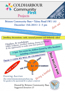 Christmas party flyer 2014